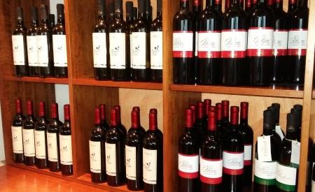 bottiglie di vino di Germoglio